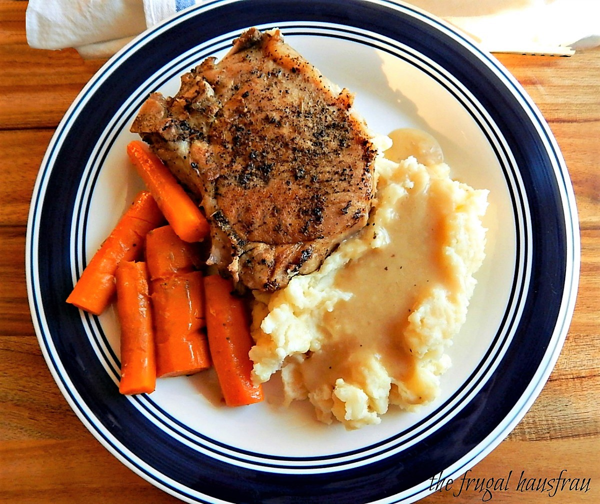Instant Pot Pork Chop One Pot Meal